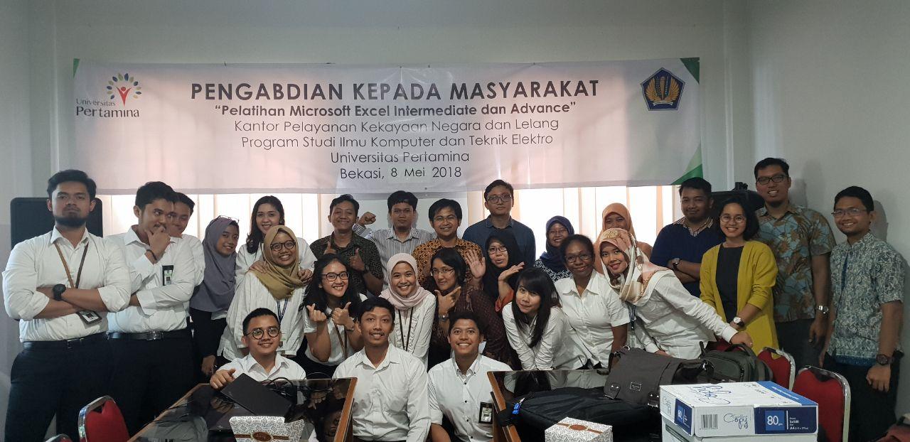 Pelatihan Microsoft Excel tingkat Advanced sebagai katalis inovasi teknologi digital bagi Aparatur Sipil Negara (ASN) di KPKNL Bekasi