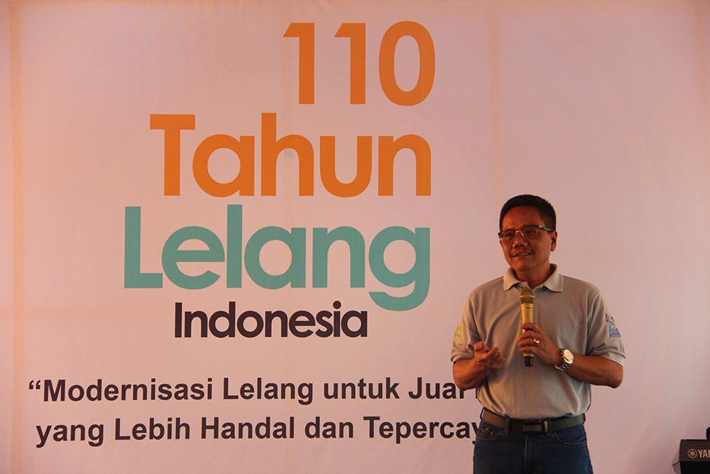 Euforia 110 Tahun Lelang Indonesia di KPKNL Banjarmasin