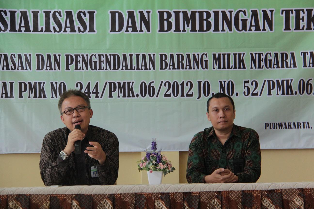 KPKNL Purwakarta Laksanakan Sosialisasi dan Bimtek Wasdal BMN
