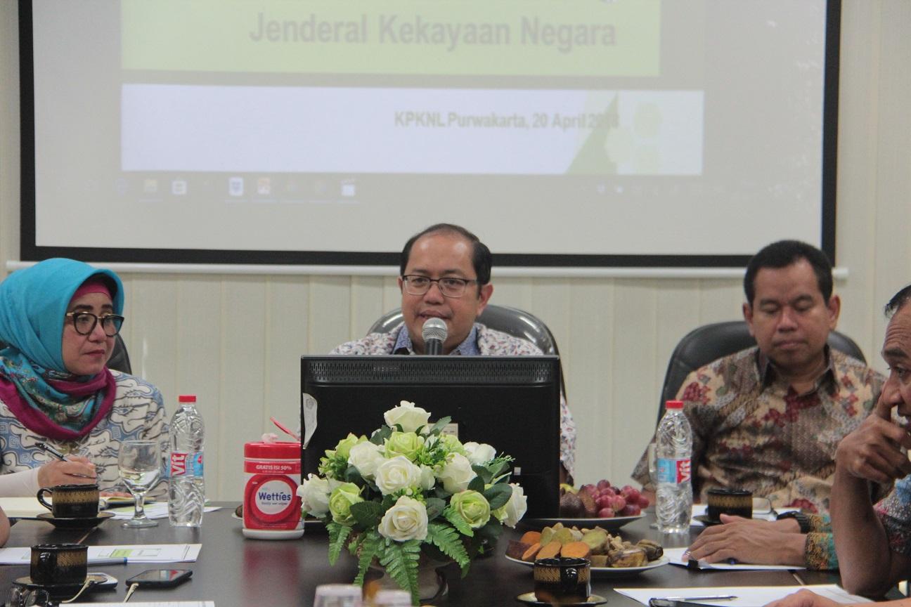 Dirjen Kekayaan Negara Lakukan Kunjungan Kerja ke KPKNL Purwakarta