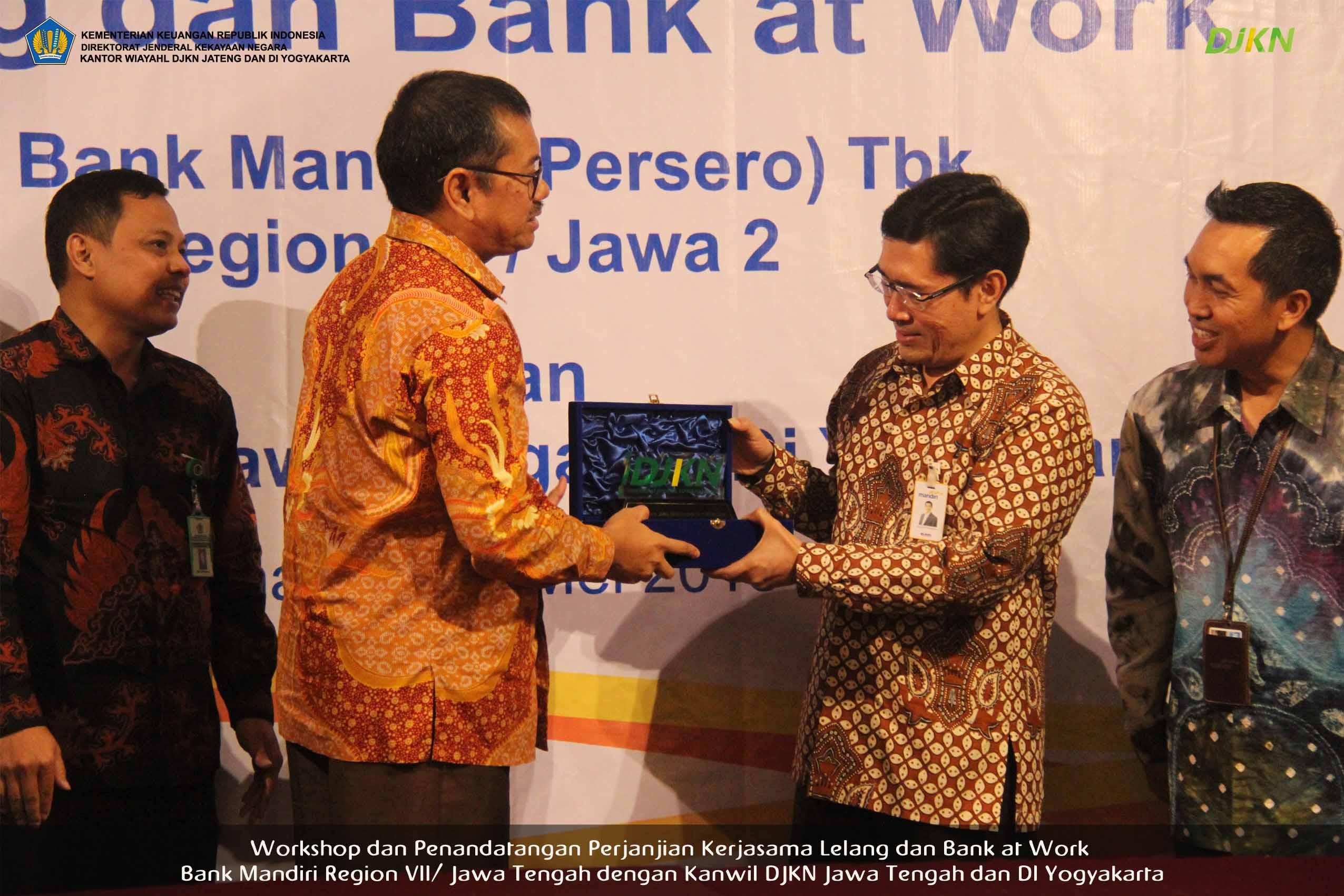 Kakanwil DJKN Jateng & DIY: Kerjasama Mandiri - DJKN Merupakan Trigger Elaborasi