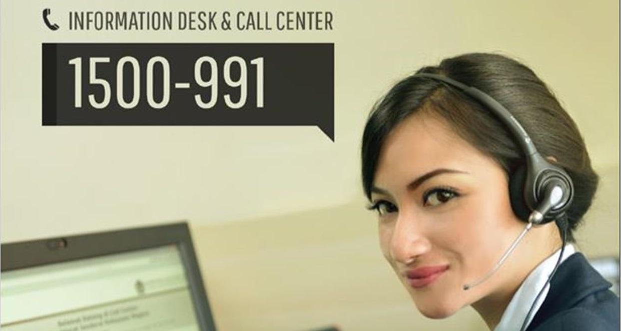 Call Center DJKN