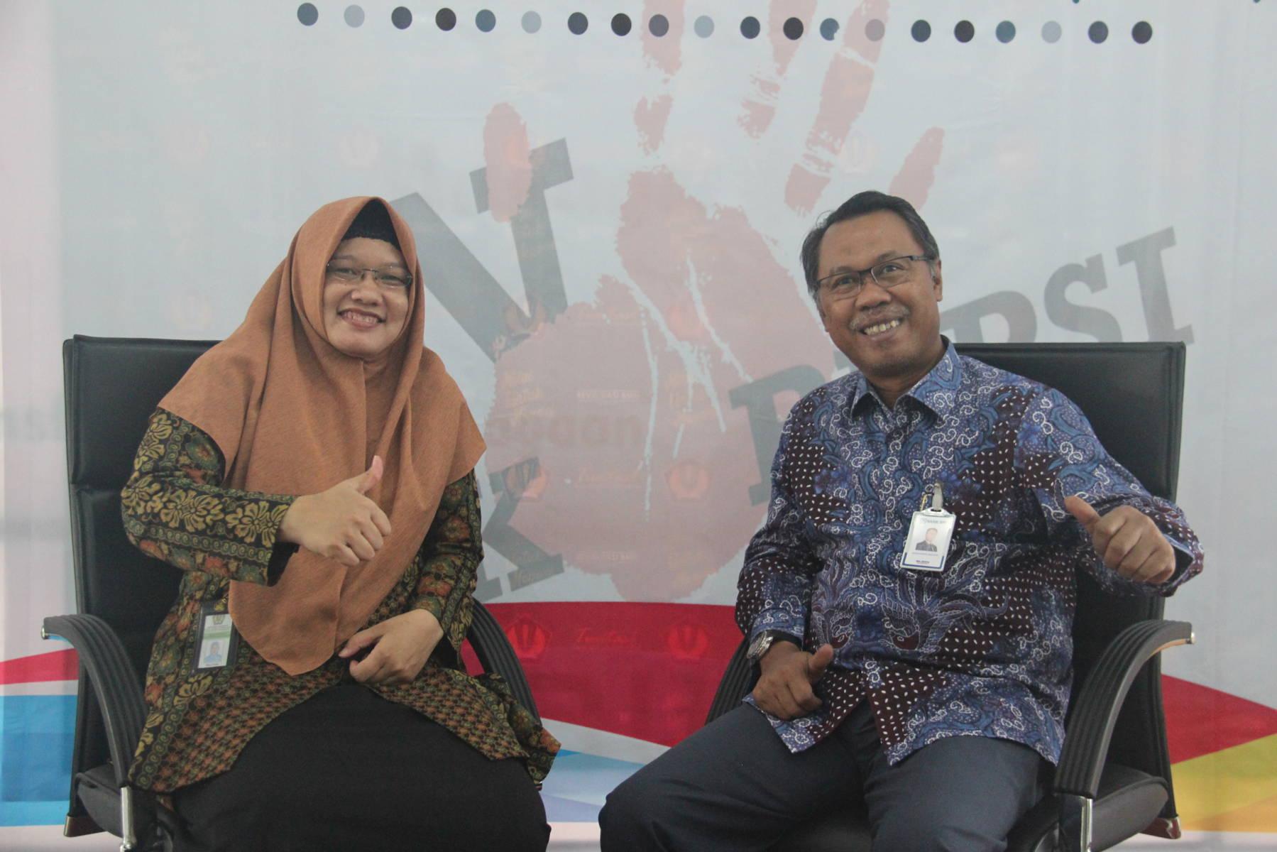 Pencanangan Pembangunan Zona Integritas pada KPKNL Pekanbaru