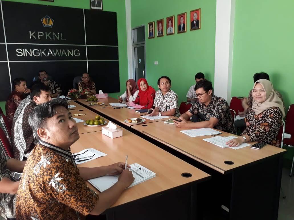 KPKNL Singkawang Adakan Rapat Dialog Kinerja Organisasi dan Monev Capaian Kinerja