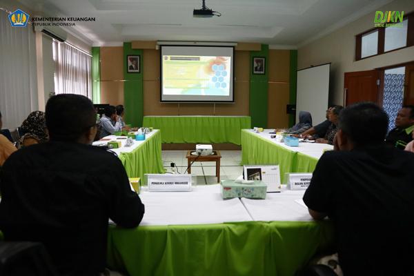 KPKNL Bengkulu Adakan Dialog Kinerja Organisasi Semester I Tahun 2018