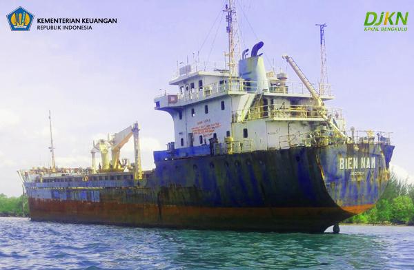 Dilelang KPKNL Bengkulu, Kapal Asal Vietnam Laku Rp4,5 miliar