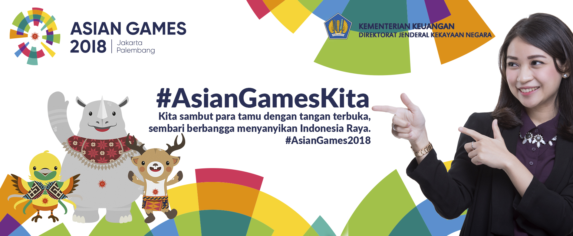 #AsianGamesKita #IndonesiaBisa