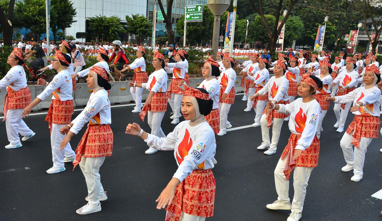 DWP DJKN Ikuti Aksi Pemecahan Rekor Dunia - Guinness World Records The Large Poco-Poco Dance