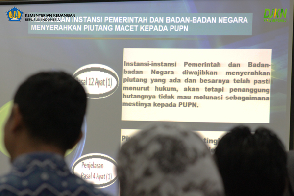 Instansi Pemerintah/Badan Negara Wajib Serahkan Piutang Macet ke PUPN