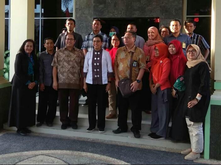 Menkeu Sri Mulyani Sempatkan ke KPKNL Mataram dalam Rangkaian Kegiatan Cek Kondisi Pasca Gempa Lombok