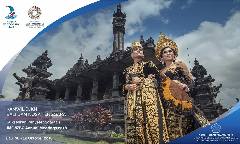Kanwil DJKN Balinusra Siap Menyukseskan IMF & World Bank Group Annual Meeting 2018