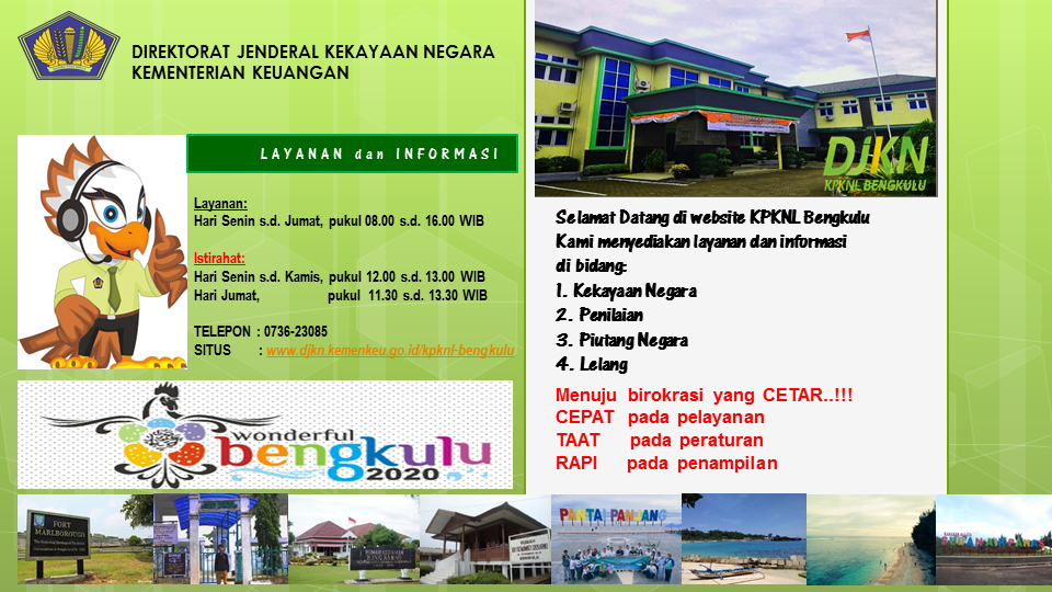 Selamat Datang di Website KPKNL Bengkulu