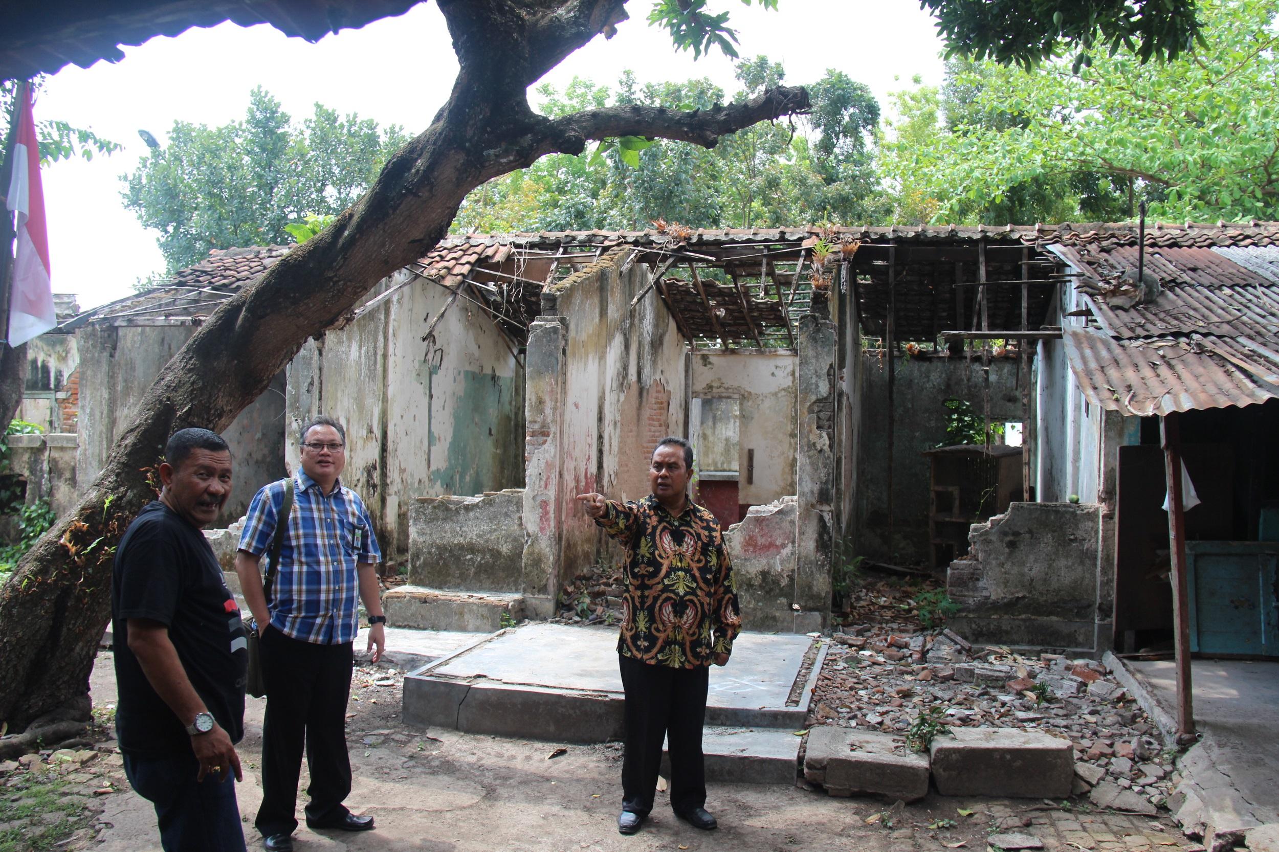 Pasca Gempa Lombok Kakanwil DJKN Balinusra Tinjau Aset Negara eks Pengelolaan PT. PPA