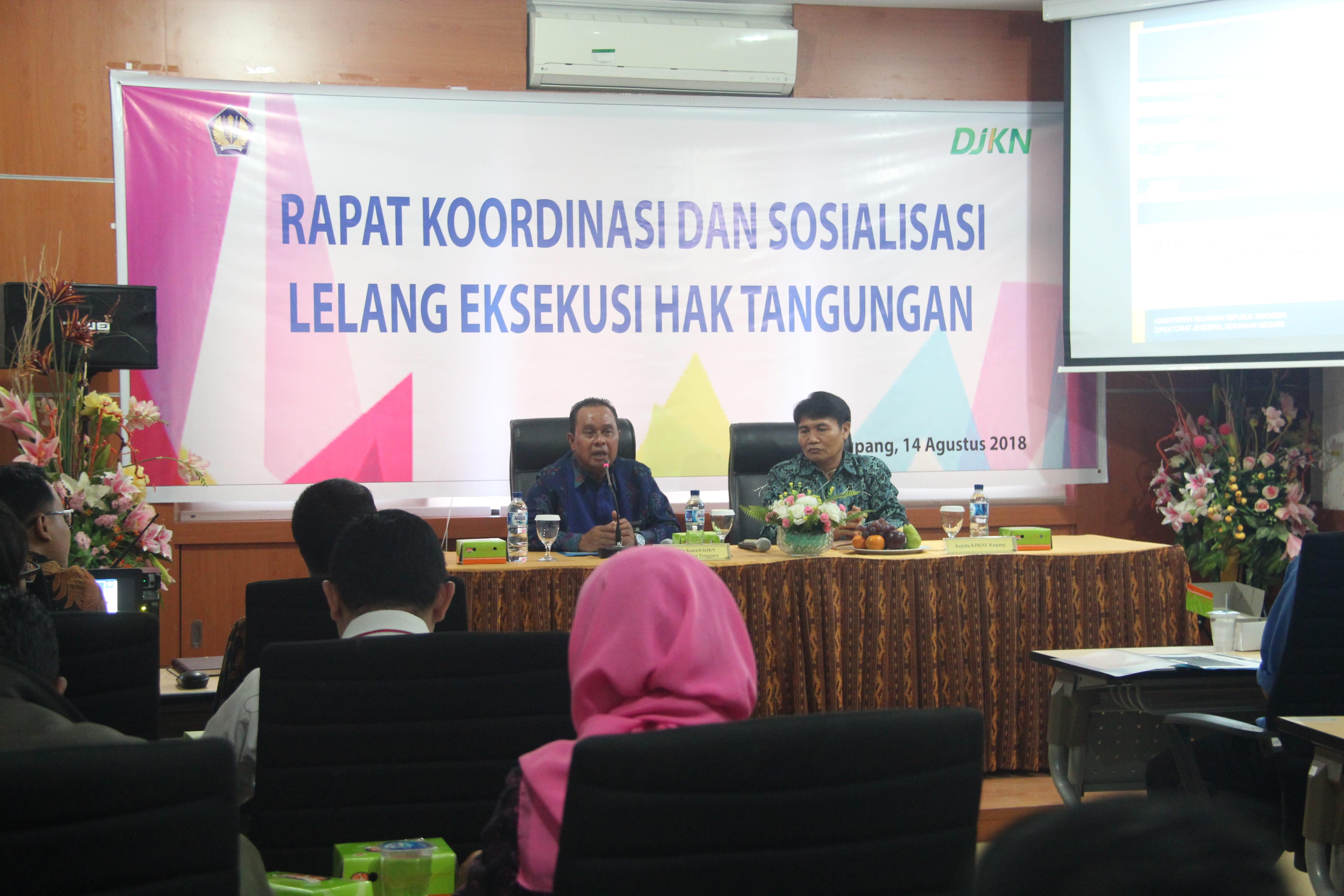 Sosialisasi HT KPKNL Kupang