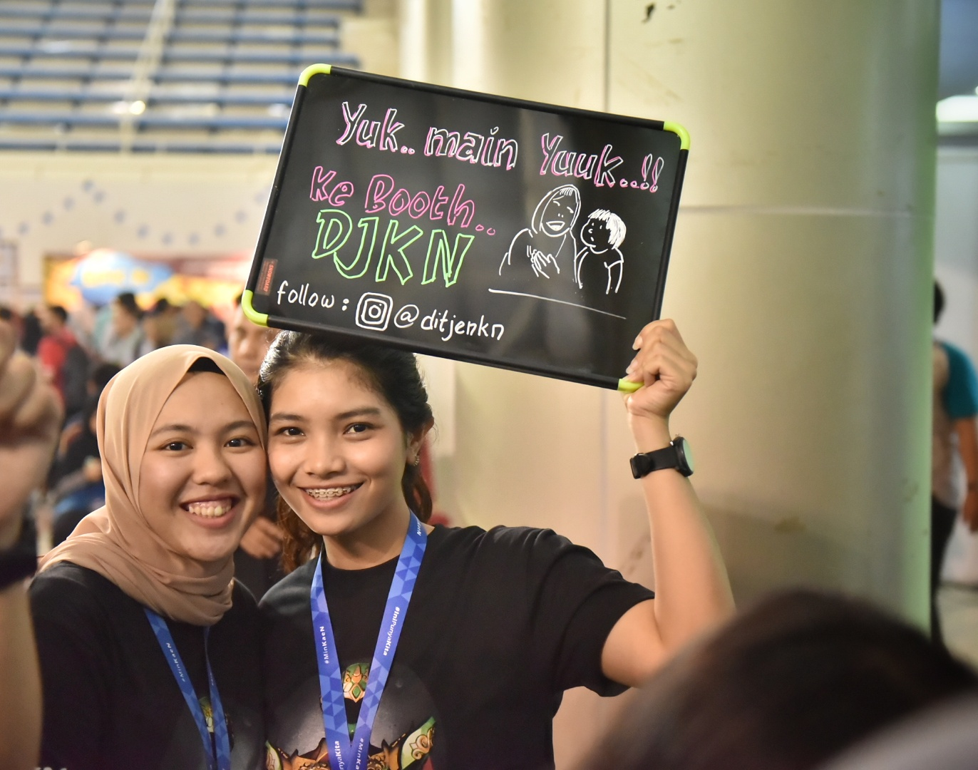 DJKN Hadir di Ministry Goes To PKN STAN 2018