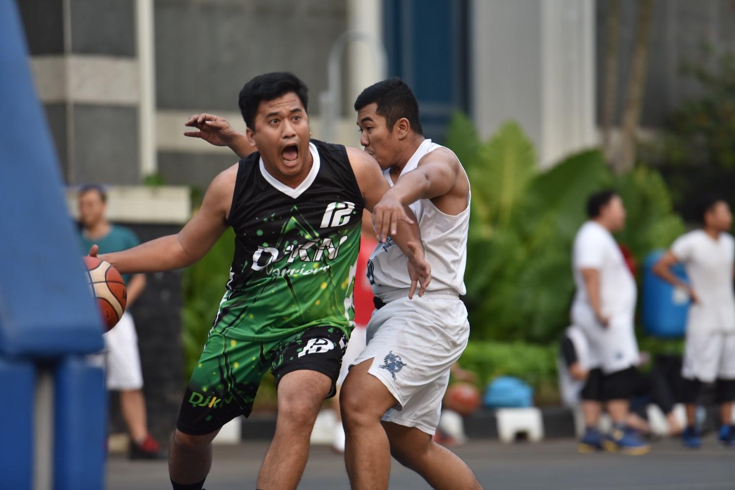 Unggul Dua Poin, DJKN Rebut Gelar Juara 3x3 Hari Oeang 72