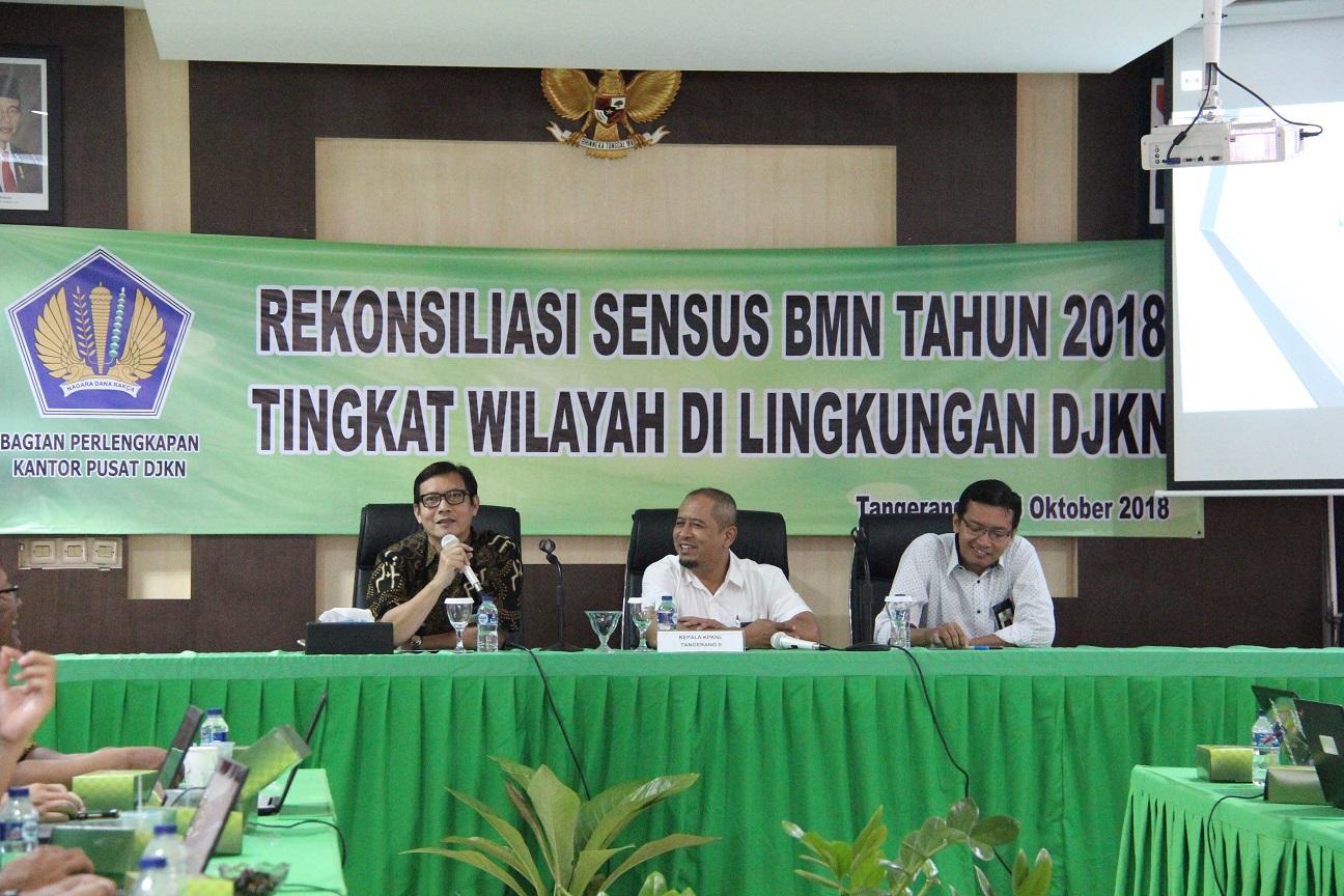KPKNL Tangerang II Jadi Tuan Rumah Rekonsiliasi Sensus BMN