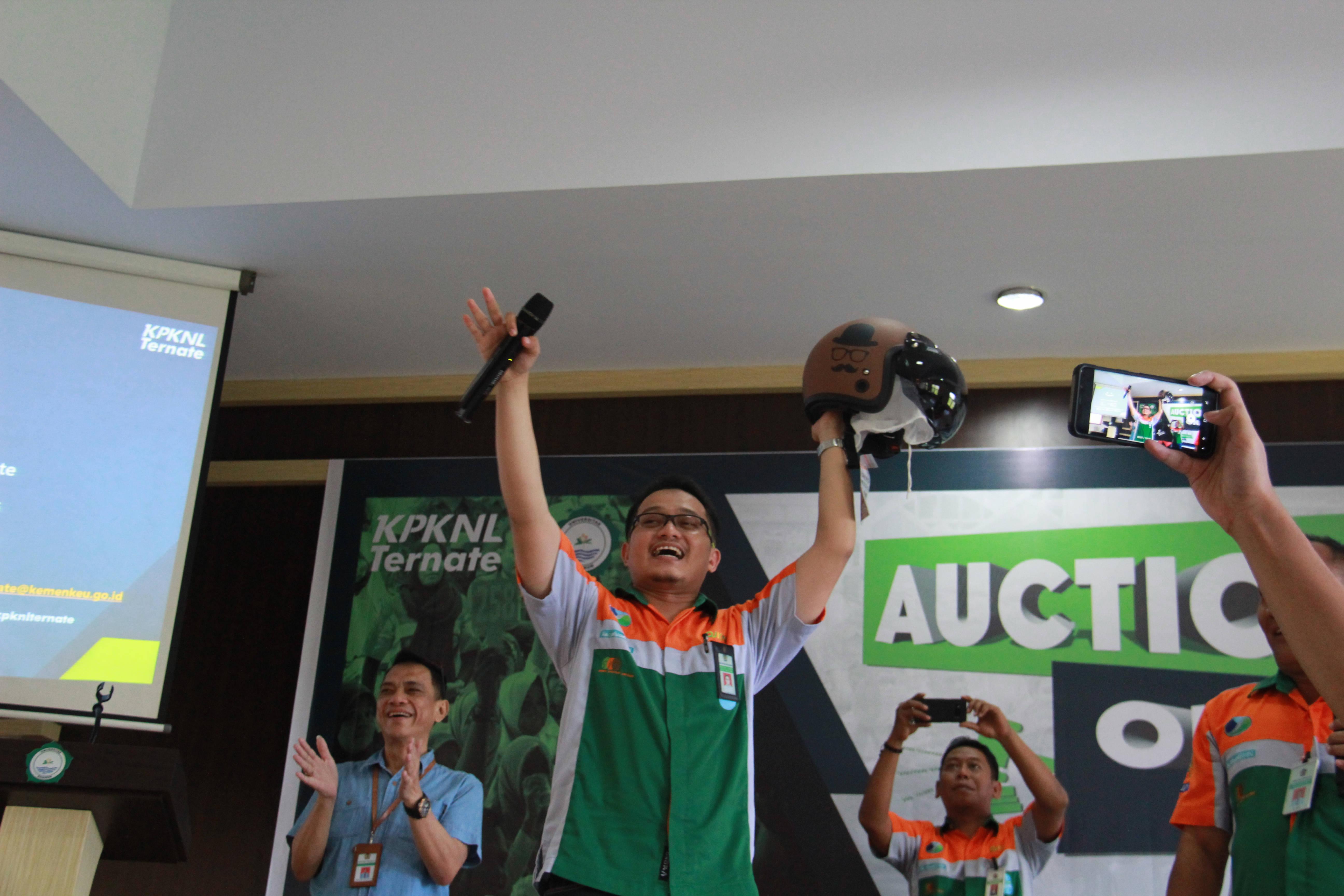 KPKNL Ternate Gelar Auction on Campus di Universitas Khairun Ternate