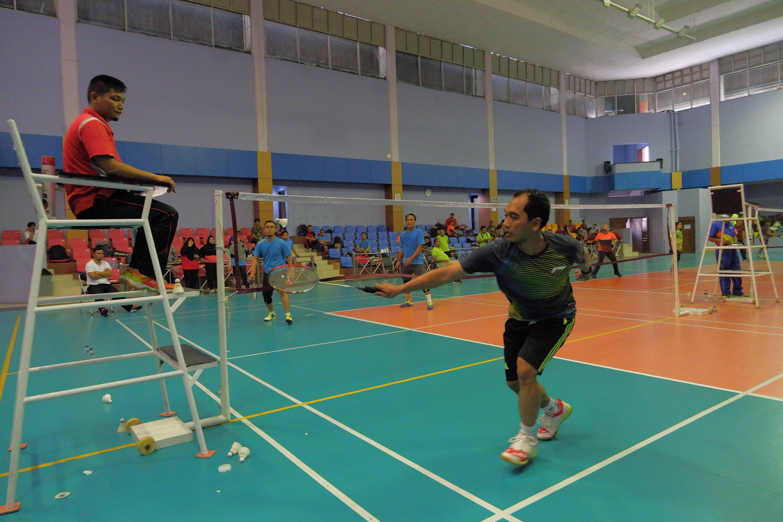 Pertandingan Bulu Tangkis PKN, Tim Kantor Pusat A dan B akan Bertemu di Semifinal
