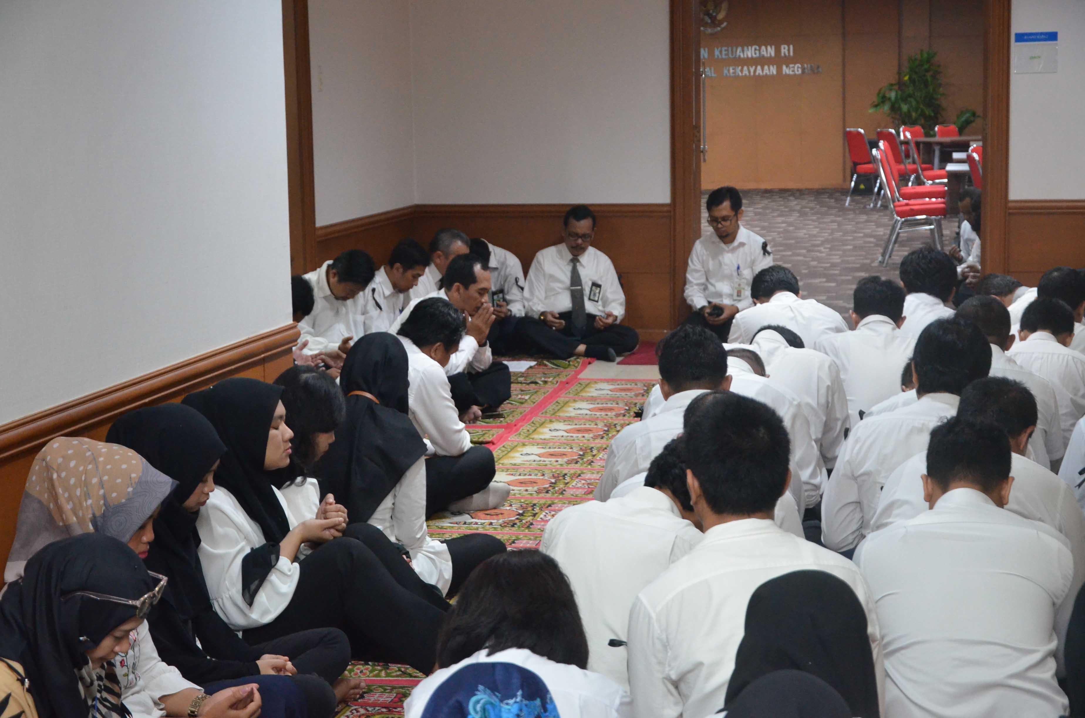 DJKN Gelar Doa Bersama Untuk Korban Pesawat Lion Air JT-610