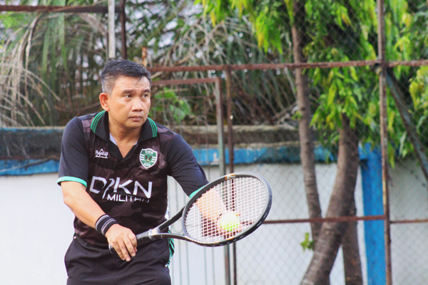 Tim Tenis KPKNL Bengkulu Tembus Semifinal Hari Oeang Games ke-72