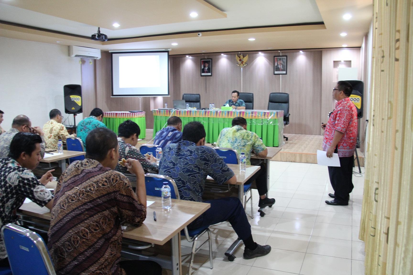 KPKNL Bima Menyelenggarakan Rapat Koordinasi WBK dan WBBM