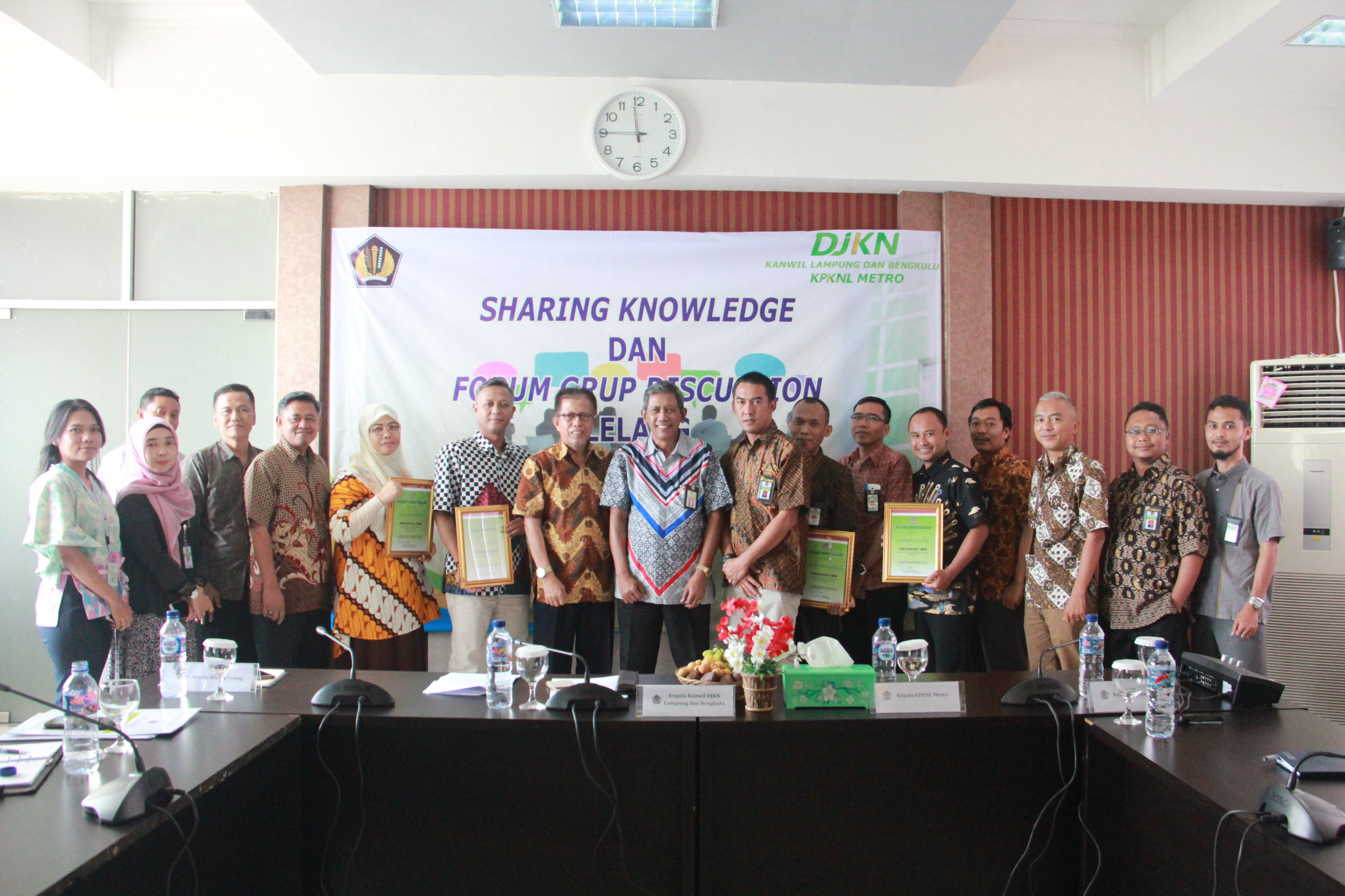 Focus Grup Discussion dan Sharing Knowledge Lelang di Lingkungan Kanwil DJKN Lampung dan Bengkulu