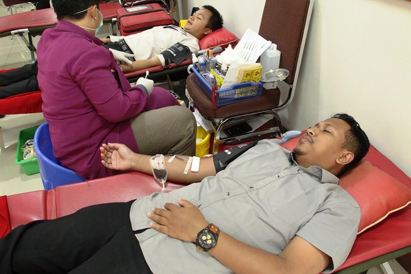 Gelar Aksi Donor Darah, Antusiasme Melebihi Ekspektasi