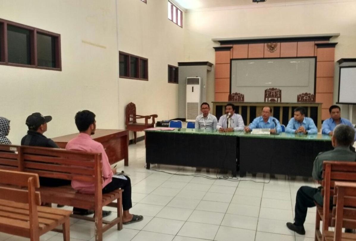 Sinergi KPKNL Bima Dan Pengadilan Negeri Raba Bima, Aanwijzing Lelang Eksekusi