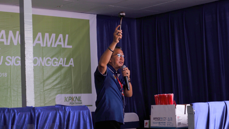 KPKNL Pontianak laksanakan Lelang Sukarela Amal untuk Palu, Sigi dan Donggala