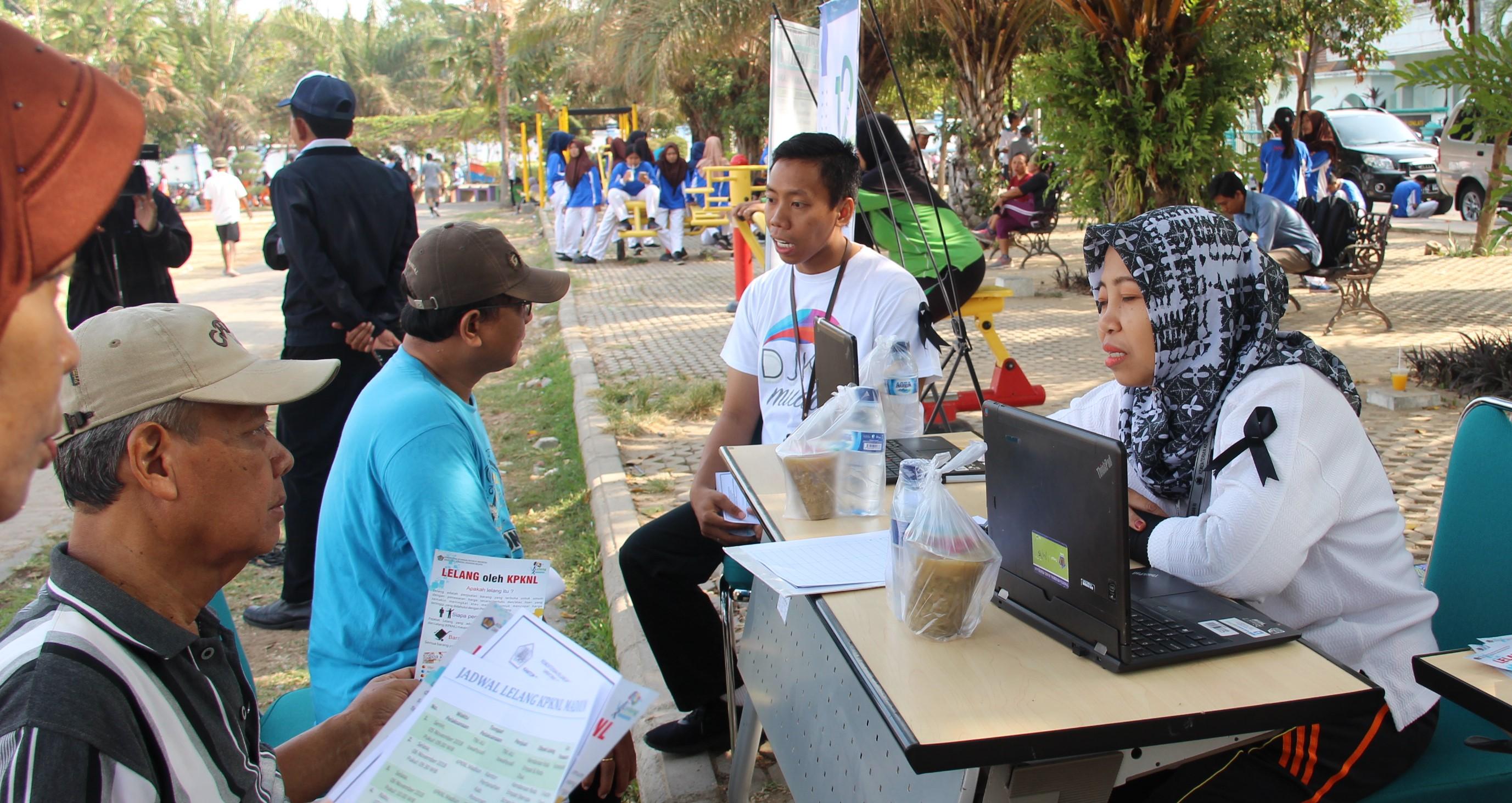 Edukasi Lelang, KPKNL Madiun Semarakkan Pekan Kekayaan Negara