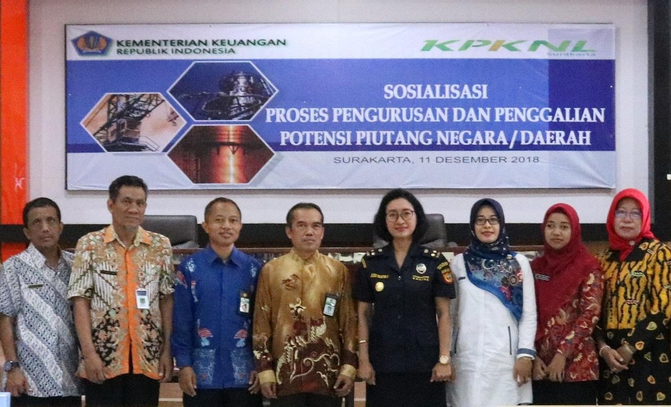 KPKNL Surakarta Selenggarakan Sosisalisasi Pengurusan dan Penggalian Potensi Piutang Negara/Daerah