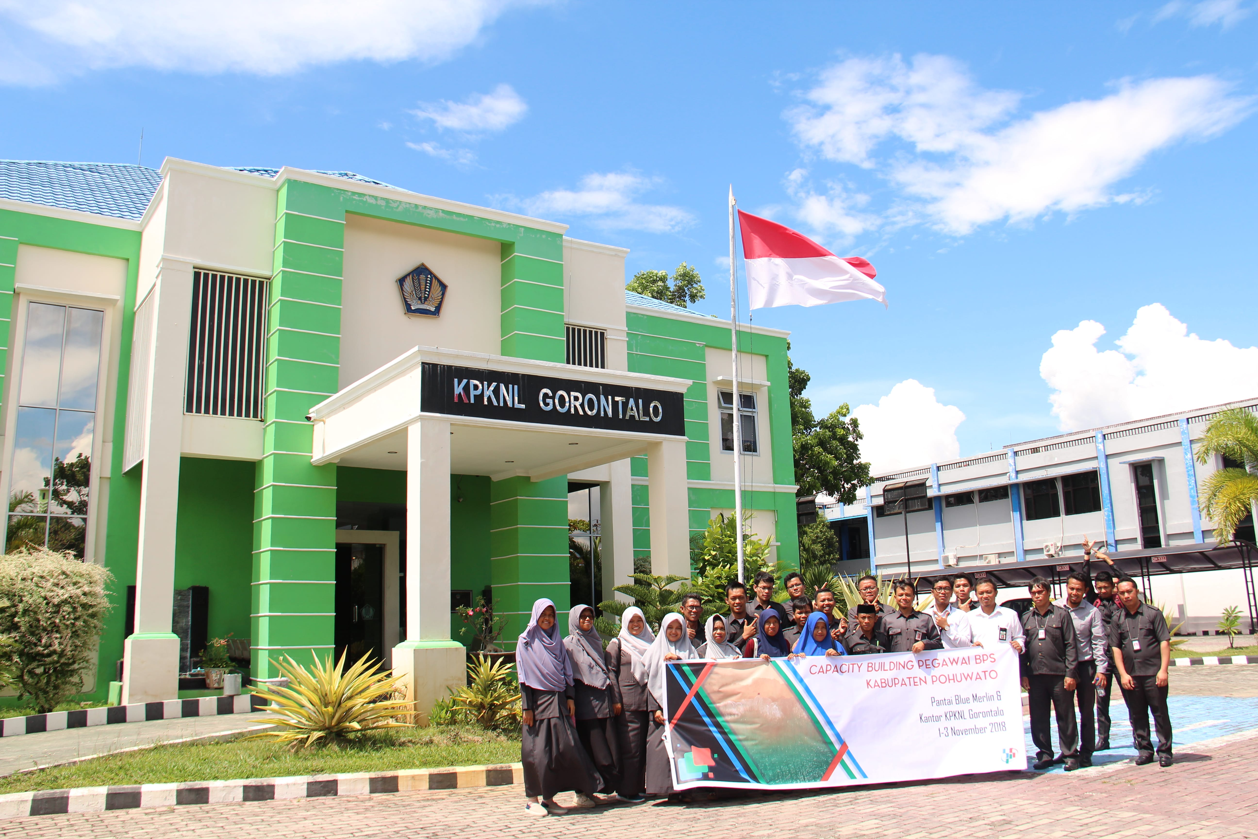 Kunjungan Badan Pusat Statistik Kabupaten Pohuwato