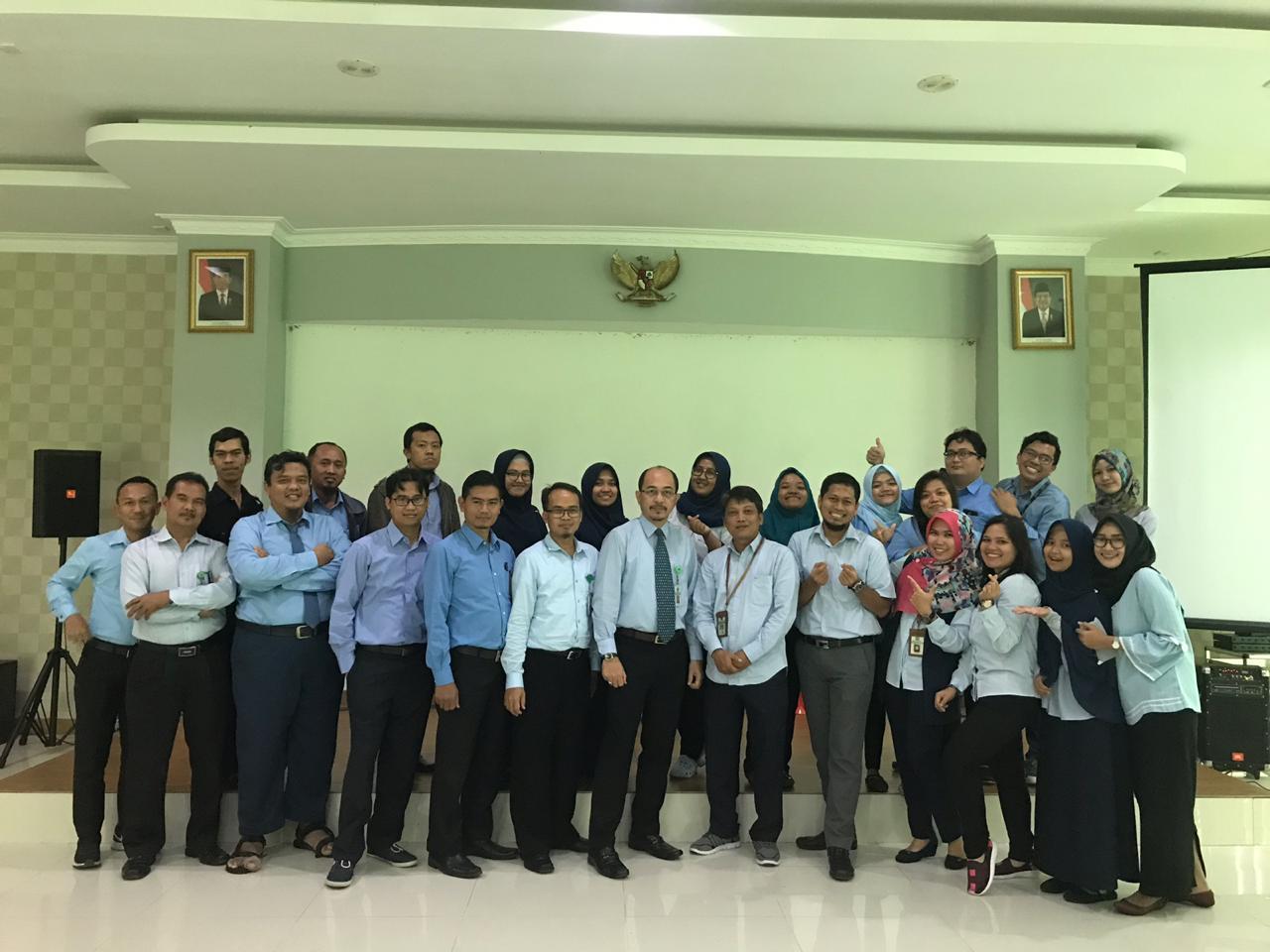 Pelepasan Pejabat Eselon IV dan Pelaksana KPKNL Batam