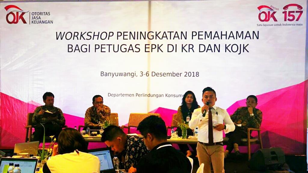 OJK dan KPKNL Jakarta III Berikan Workshop Lelang