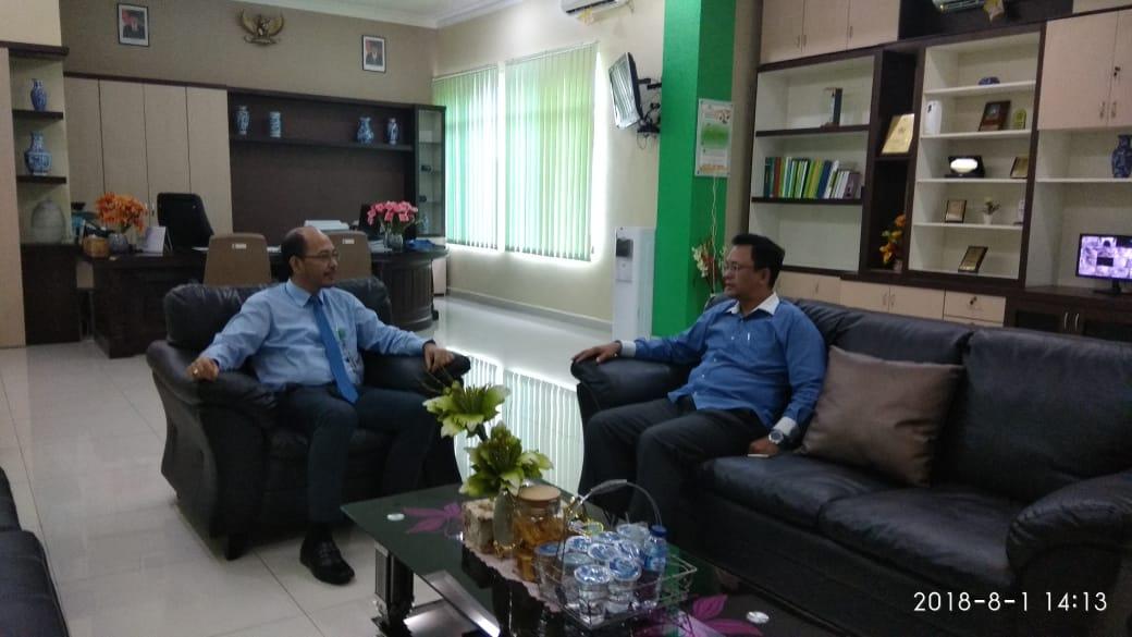 KPKNL Batam Menerima Kunjungan Kepala Perwakilan Ombudsman Kepri