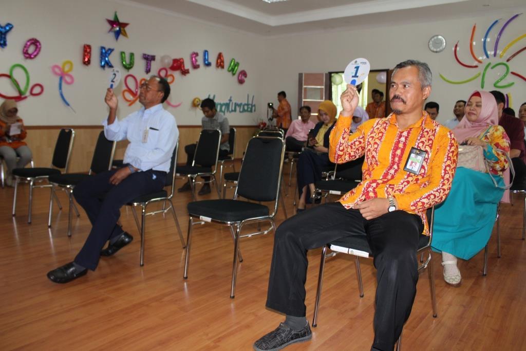 KPKNL Mataram Hasilkan 15.636.600 Rupiah Dari Lelang Amal Untuk Korban Bencana Di Palu, Sigi, dan Donggala