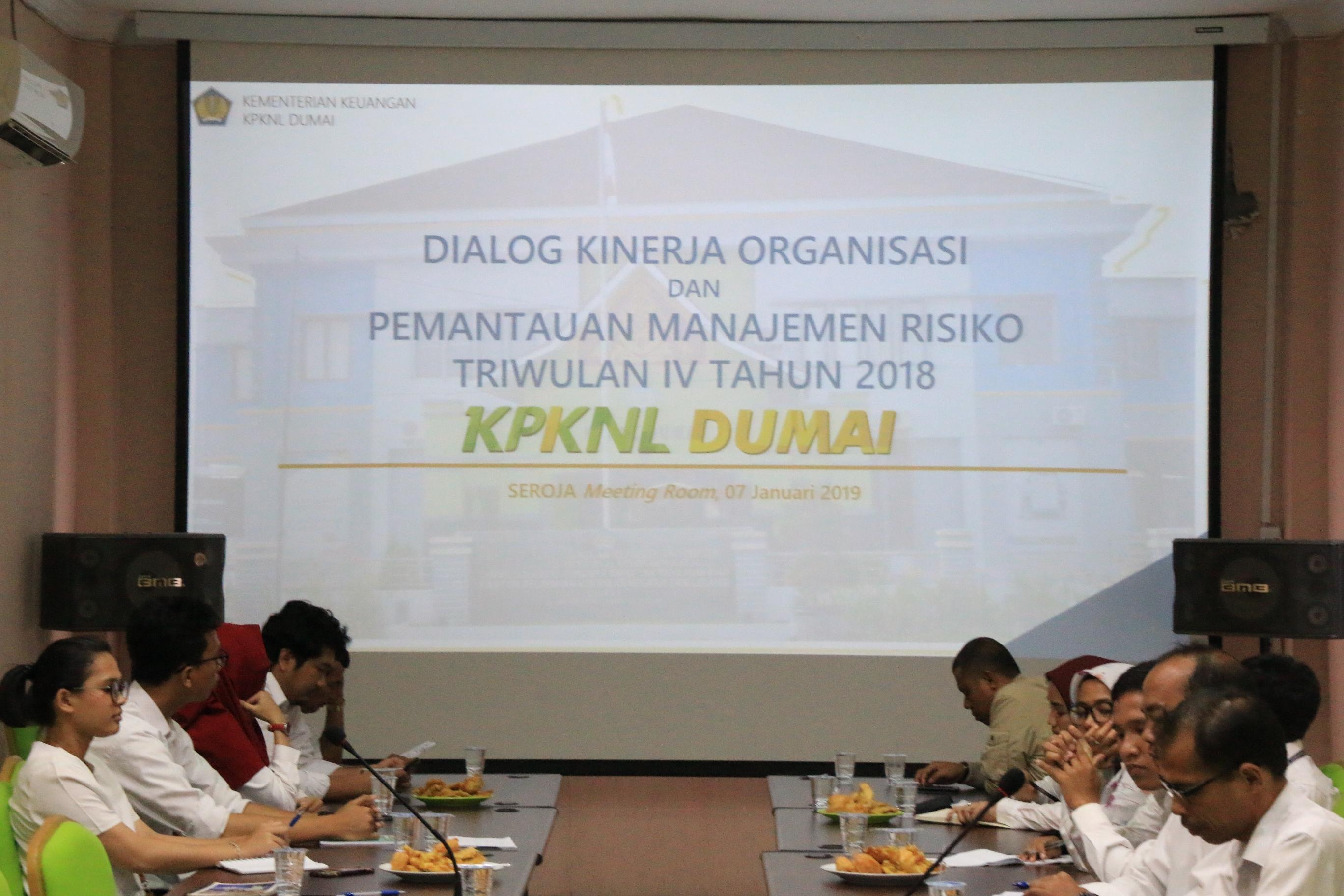 KPKNL Dumai Gelar DKO Triwulan IV Tahun 2018