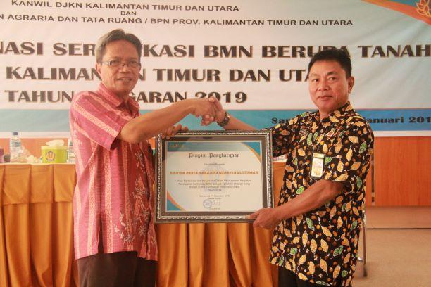 Gandeng BPN, Kanwil DJKN Kaltimtara Siap Sukseskan Sertifikasi BMN 2019