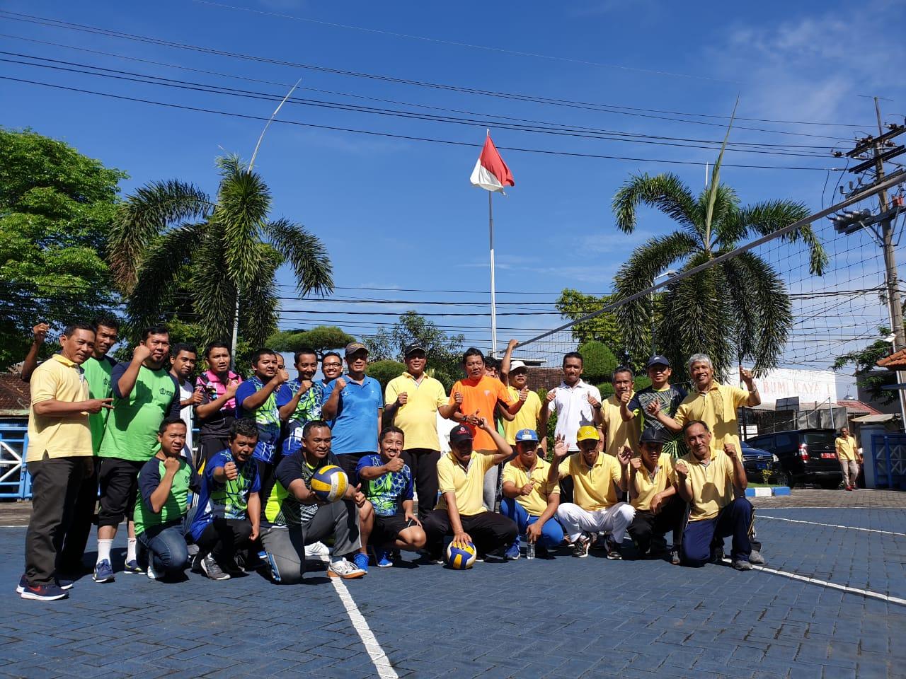 Tingkatkan Sinergi Antar Instansi Dengan Olahraga Bersama KPKNL Sidoarjo dan KPPN Sidoarjo