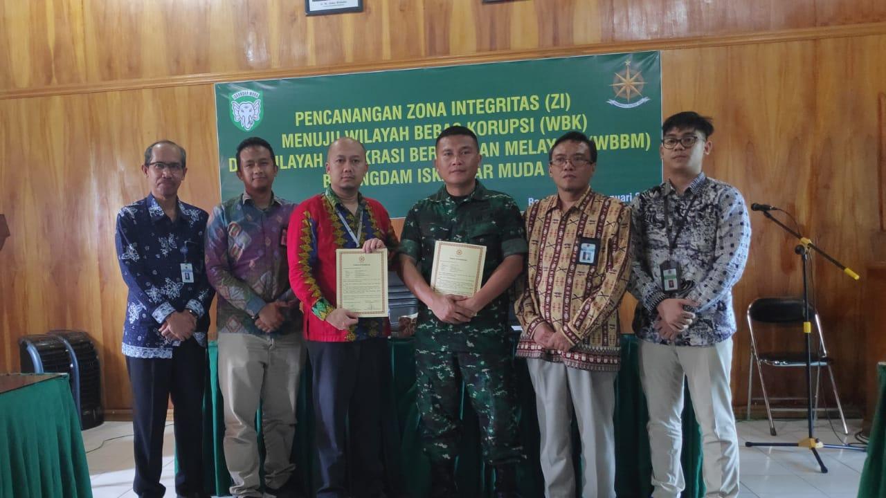 KPKNL Banda Aceh Mendukung Pembangunan ZI Menuju WBK/WBBM di Lingkungan Bekangdam IM