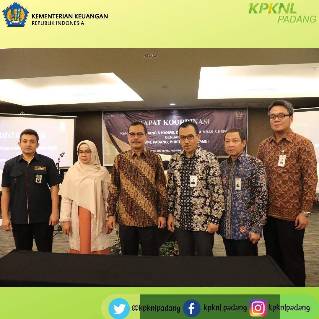 Rapat Koordinasi Kanwil BRI Padang dan Kanwil DJKN RSK Bersama KPKNL Padang, Bukittinggi dan Jambi Demi Tingkatkan Capaian Target Lelang