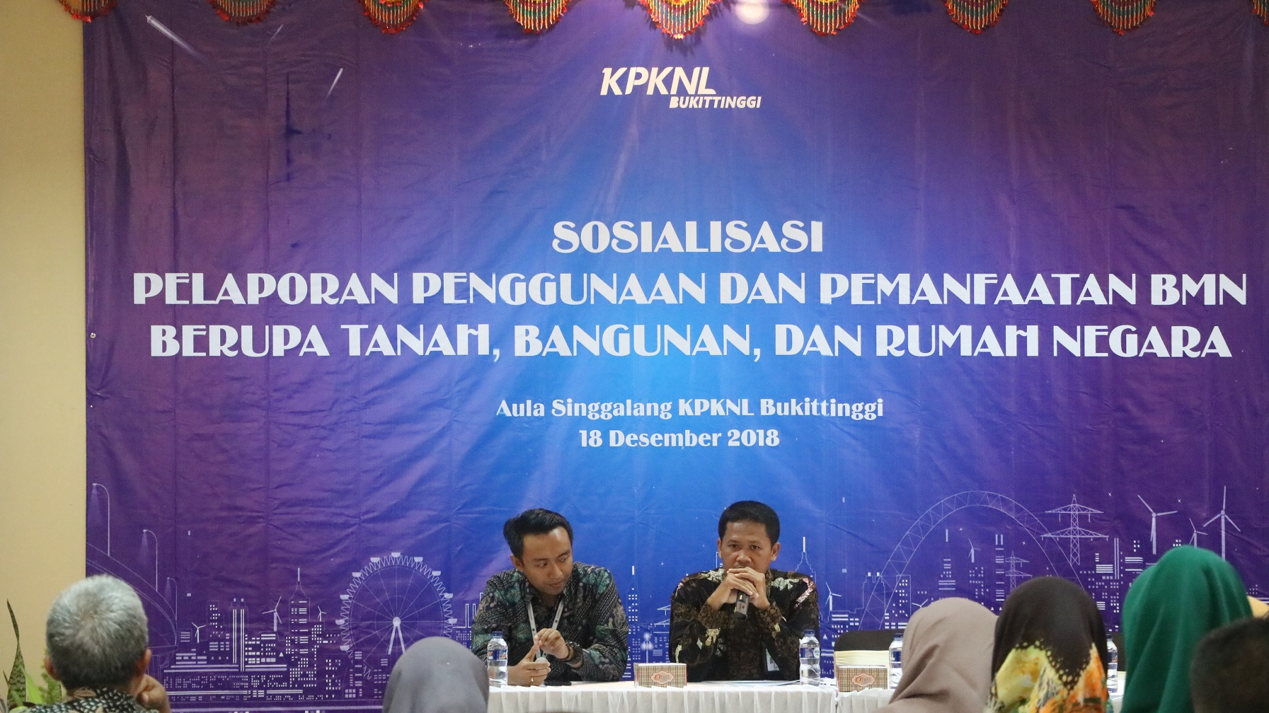 KPKNL Bukittinggi Adakan Sosialiasi Pelaporan BMN
