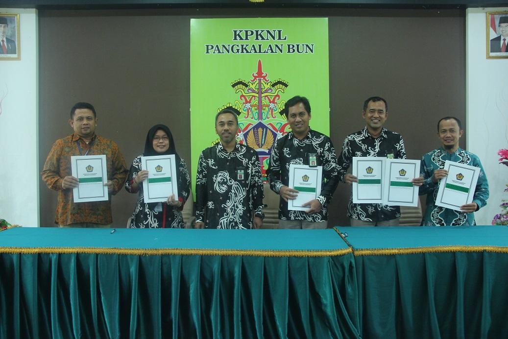 KPKNL Pangkalan Bun Siap Menuntaskan Target Kinerja Tahun 2019