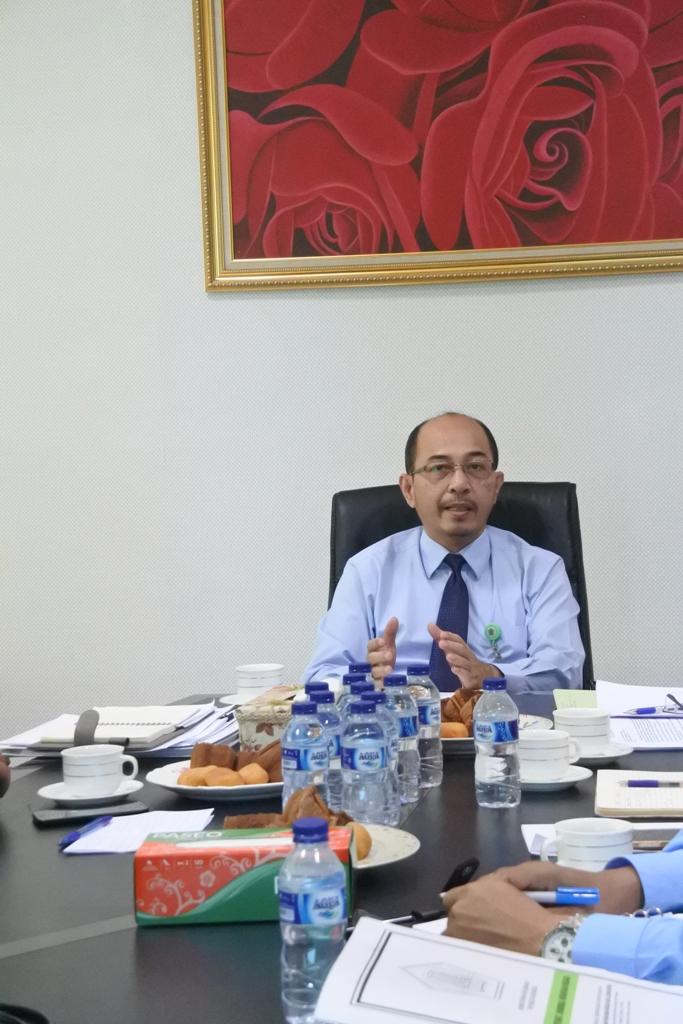 Rapat Tindak lanjut Temuan BPK RI dan Sertipikasi BMN berupa Tanah Tahun 2019 pada BP Batam