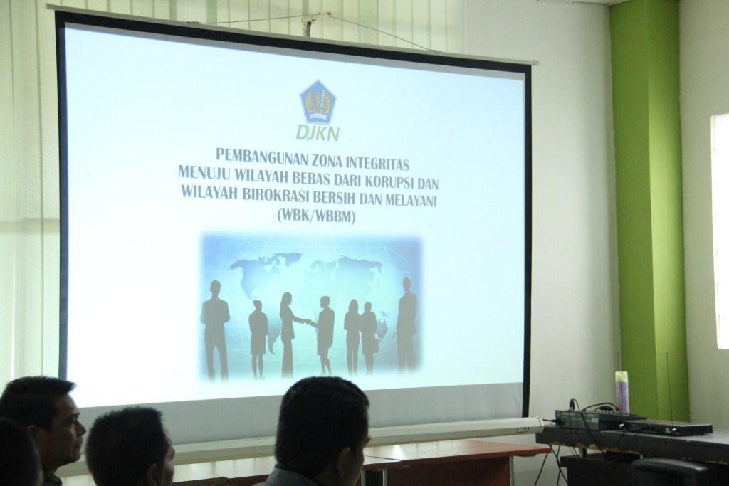 Asistensi Pembangunan Zona Integritas Menuju WBK/WBBM Oleh Perwakilan OKI di KPKNL Palangka Raya