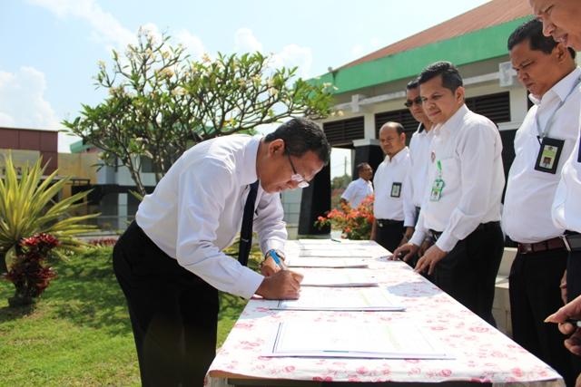 Kontrak Kinerja KPKNL Pematangsiantar 2019 Bisa...Bisa...Bisa