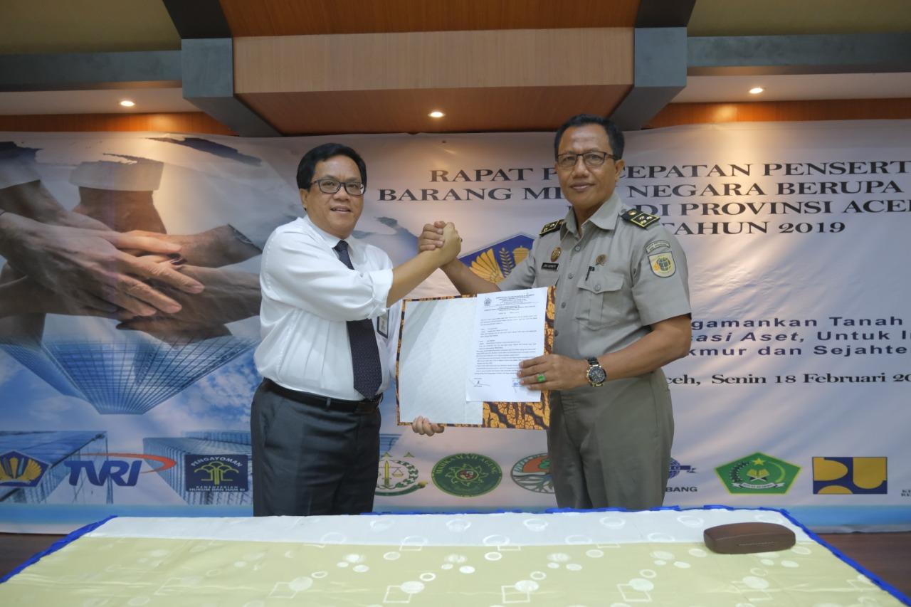 Tertib Administrasi BMN melalui Sertifikasi BMN berupa Tanah Tahun 2019