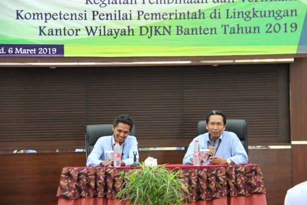 KANWIL DJKN BANTEN: Quality Assurance untuk peningkatan kompetensi Penilai Pemerintah yang lebih berkualitas
