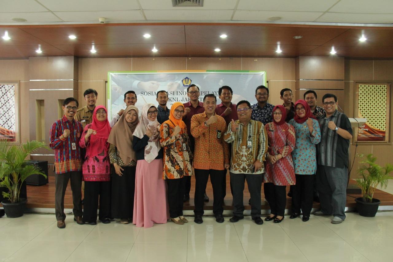 KPKNL Jakarta IV Luncurkan SMS Center 0815-8684-8888 sebagai bentuk Inovasi Layanan Publik pertama di DJKN